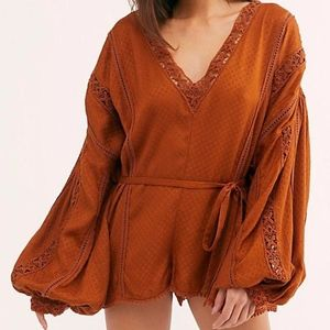 Free People I Mean It Rober Romper